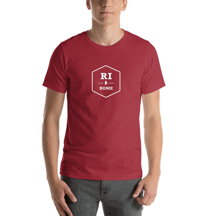 Rhode Island Home T-Shirt
