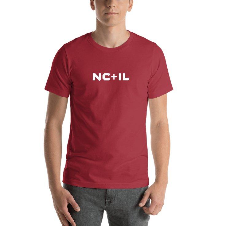 North Carolina Plus Illinois T-shirt