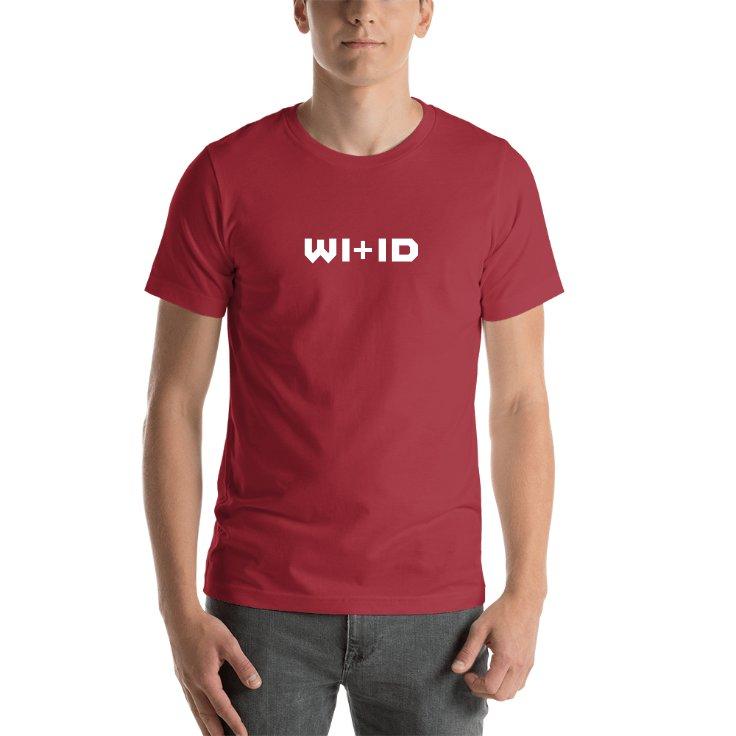 Wisconsin Plus Idaho T-shirt